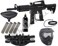 Kingman Spyder MR6 Epic Paintball Gun Kit