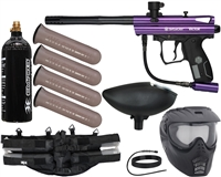 Kingman Spyder Victor Epic Paintball Marker Package - Gloss Purple