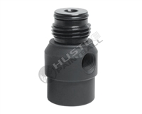 TechT Paintball Optimus 360 Swivel Gauge Adapter - Black