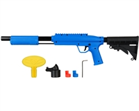 Valken Gotcha Tactical .50 Cal Shotgun Paintball Marker w/ Stock - Blue