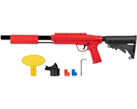 Valken Gotcha Tactical .50 Cal Shotgun Paintball Marker w/ Stock - Red