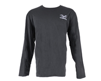 Valken Stitched Logo Long Sleeve Shirt - Grey