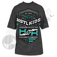 HK Army T-Shirt - Firepower - Charcoal/Heather