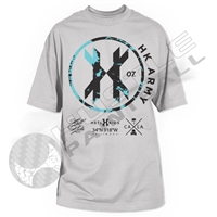 HK Army T-Shirt - Origin - Silver