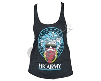 HK Army Girls Tank Top - Medusa - Black