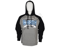 HK Army Pullover Hoodie - Royal - Grey/Black