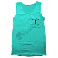 HK Army Tank Top - Maliboom - Aqua Green