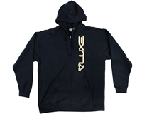 DLX Technology Luxe Zip Up Hoodie - Navy Blue