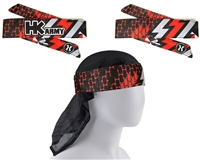 HK Army Headband/Headwrap - Fire