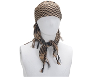Gen X Global Special Forces Headwrap - Brown Checkered