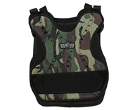 Gen X Global Chest Protector - Woodland Camo