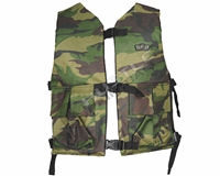 Gen X Global Chest Protector (Reversible) - Woodland Camo
