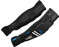 HK Army Paintball Crash CTX Elbow Pads - Black/Blue