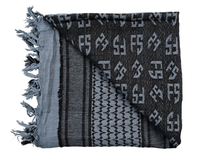 First Strike Shemagh Headwrap - Grey/Black