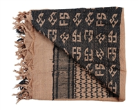 First Strike Shemagh Headwrap - Tan/Black