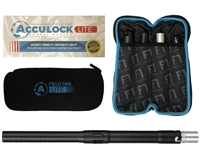 Field One Barrel Kit - Acculock Lite - Autococker Threaded - Dust Black