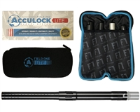 Field One Barrel Kit - Acculock Lite - Autococker Threaded - Gloss Black