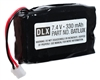 DLX Technology Paintball Rechargeable Lithium Poly Battery Pack - Luxe