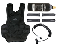 Gen X Global Paintball Tactical Vest w/ Remote & 20oz CO2 Tank
