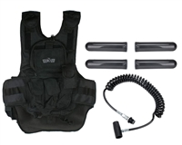 Gen X Global Paintball Tactical Vest w/ On/Of Remote Line