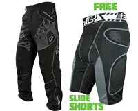 Planet Eclipse Paintball Pants w/ FREE Overload G2 Slide Shorts Combo Package - Program