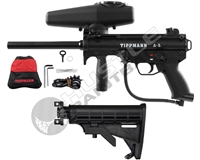 Tippmann Paintball Marker Combo Package - A5 w/ Warrior Collapsible Stock