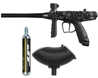 Tippmann Paintball Bonus Marker Combo Pack -  Gryphon FX w/90 Gram Disposable CO2 Tank