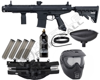 Tippmann Paintball Epic Marker Combo Pack - Stormer Elite Dual Fed