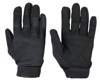 Warrior Paintball Gloves - Tournament - Black