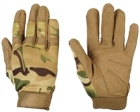 Warrior Paintball Gloves - Tournament - Multicam