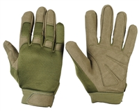 Warrior Paintball Gloves - Tournament - Olive