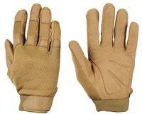 Warrior Paintball Gloves - Tournament - Tan