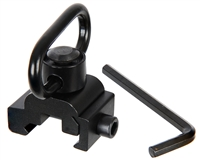 Warrior Paintball Detachable Quick Release Sling Mount for 20mm Rails
