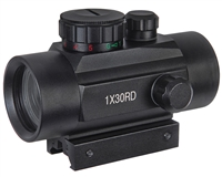 Warrior Paintball Tactical Laser Sight - 1x30MM Red Dot