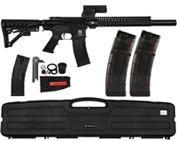 First Strike Paintball Marker - T15 DMR w/ FREE V2 20 Round Magazines (2-Pack)