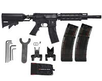 First Strike Paintball Marker - T15 SF (Select Fire) w/ FREE V2 20 Round Magazines (2-Pack)