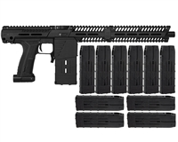 Planet Eclipse EMEK MG100 Mag Fed Paintball Gun (PAL ENABLED) w/ 10 Additional (20 Round) Magazines
