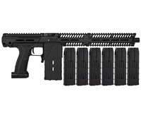 Planet Eclipse EMEK MG100 Mag Fed Paintball Gun (PAL ENABLED) w/ 6 Additional (20 Round) Magazines
