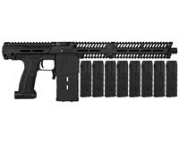 Planet Eclipse EMEK MG100 Mag Fed Paintball Gun (PAL ENABLED) w/ 8 Additional (20 Round) Magazines