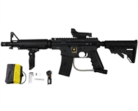 Tippmann US Army Alpha Black Elite Tactical Paintball Marker Sniper Package