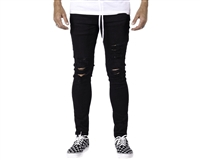 HK Army Thrasher Distressed Slim-Skinny Denim Jeans