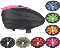 Dye LTR Hopper w/ 6.0 Quick Feed - Black/Pink