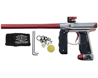 Empire Paintball Marker - Mini GS - Dust Grey/Red