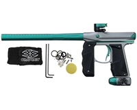 Empire Paintball Marker - Mini GS - Dust Grey/Teal