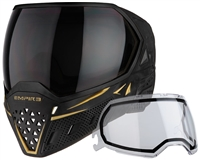 Empire Paintball Goggle - EVS - Black/Gold
