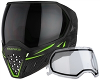 Empire Paintball Goggle - EVS - Black/Lime Green