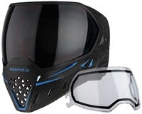 Empire Paintball Goggle - EVS - Black/Navy Blue