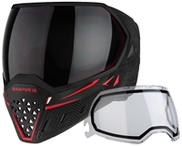 Empire Paintball Goggle - EVS - Black/Red