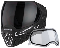Empire Paintball Goggle - EVS - Black/White