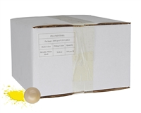 D3FY Sports Paintballs White Box .50 Caliber Paintballs - 2,000 Rounds - White Shell Yellow Fill